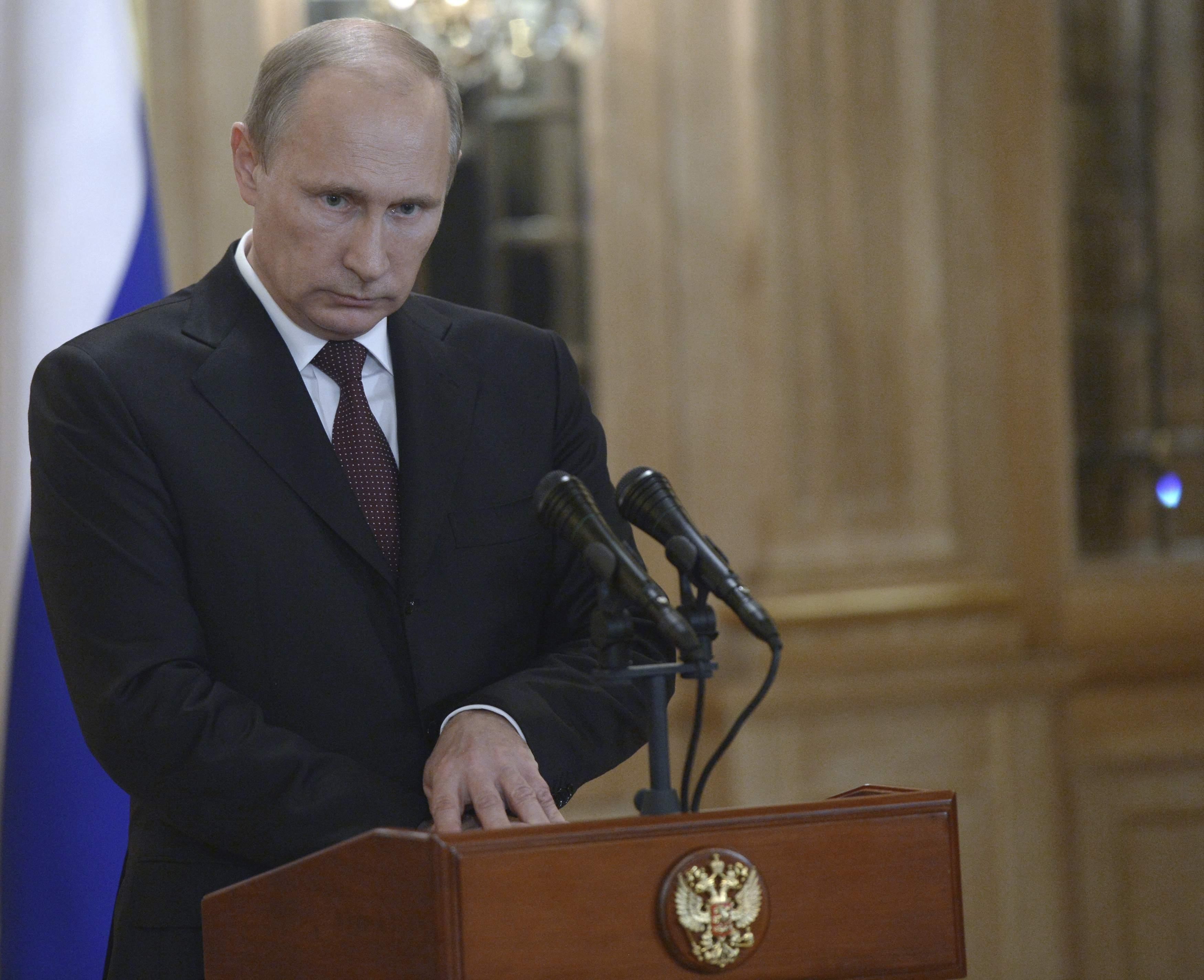 Владимир Путин в Милане