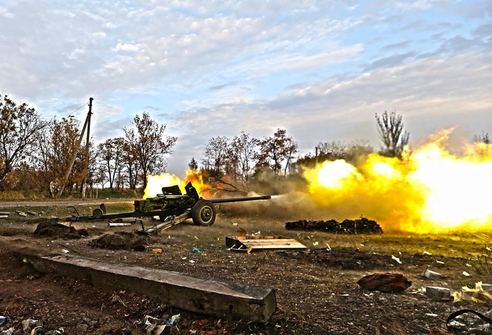 Артиллерия силовиков, иллюстрация