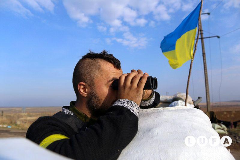 Украинский силовик, иллюстрация