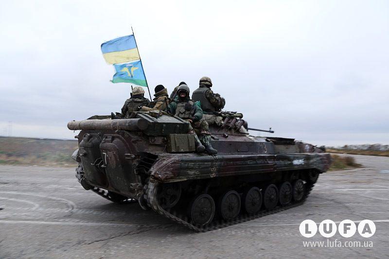 Силовики на Донбассе, иллюстрация