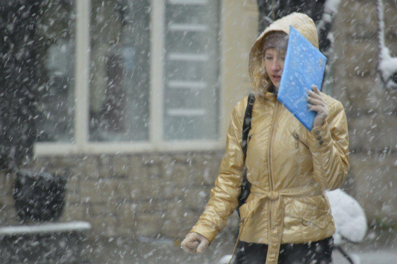 Украинцам обещают снег и морозы до -26