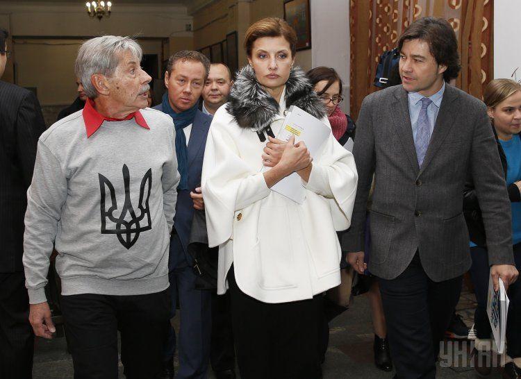 Андрей Халпахчи, Марина Порошенко и Евгений Нищук