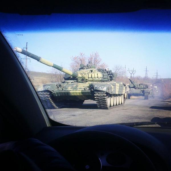 Новые танки из России