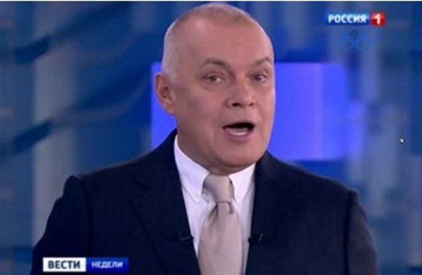 Одиозный российский пропагандист Дмитрий Киселев