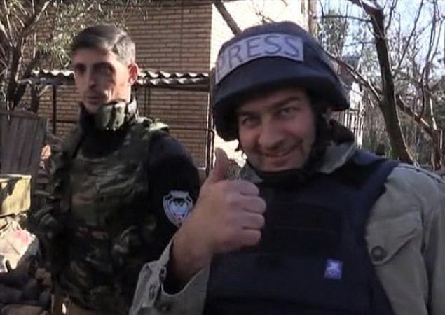 Михаил Пореченков на Донбассе