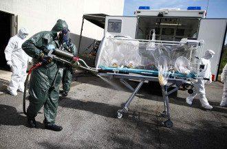 Ебола, ілюстрація