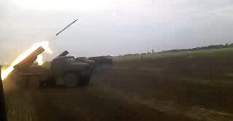 В Волновахском районе боевики дважды обстреляли наших бойцов из