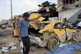 В Багдаде обстреляли ракетами район посольства США – СМИ