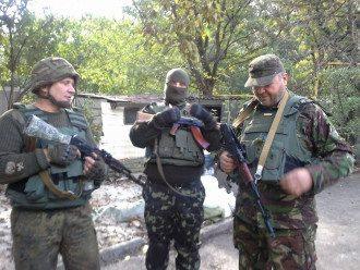 Добровольцы из батальона ОУН, иллюстрация