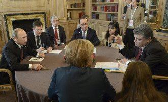 Четырехсторонняя встреча в Милане, иллюстрация