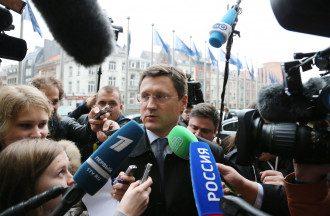 Александр Новак, министр, Россия, Брюссель