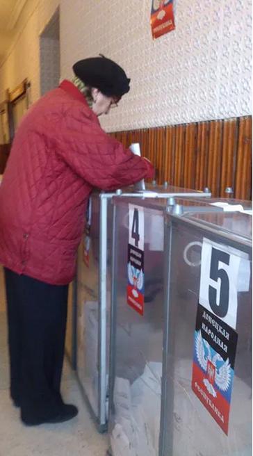 Выборы в так называемой ДНР, иллюстрация