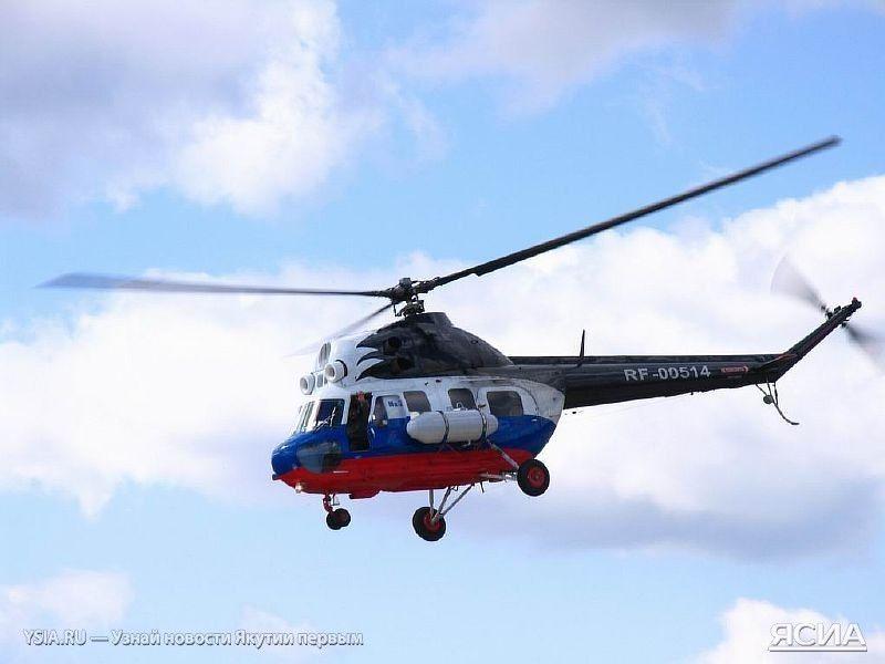 Вертолет Ми-2, иллюстрация