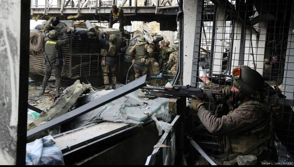 Боевики дважды обстреливали защитников донецкого аэропорта