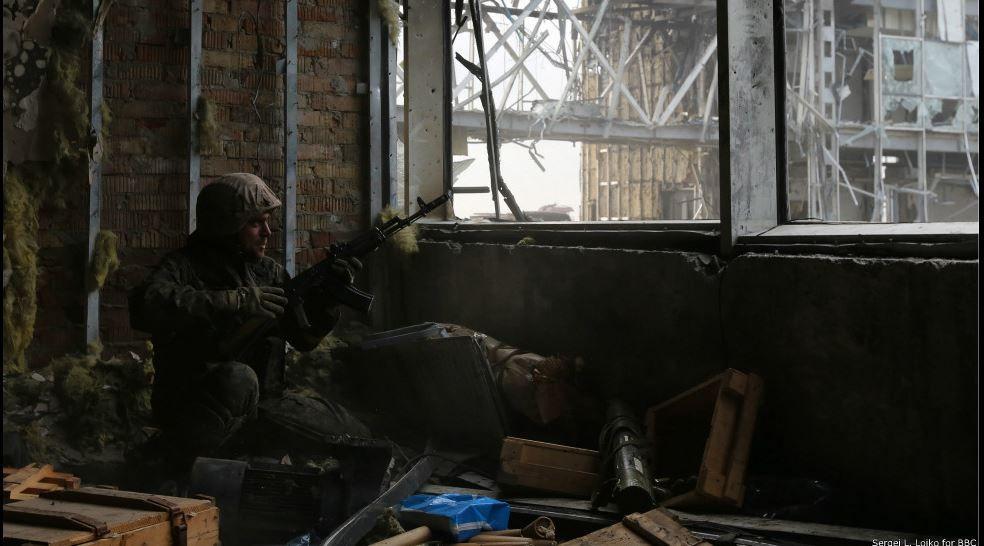 Бой в Донецком аэропорту