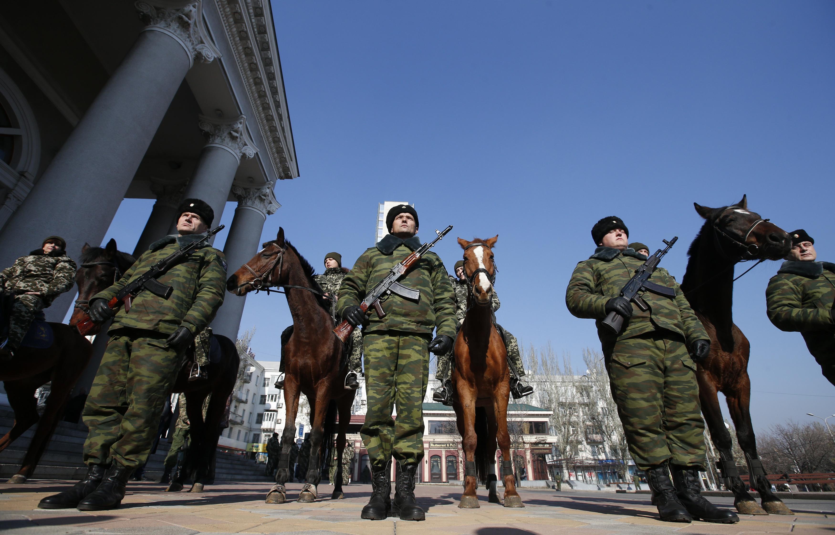 Боевики в ДНР
