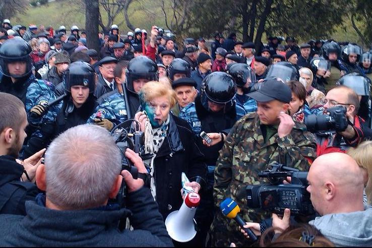 Митинги в Харькове, иллюстрация