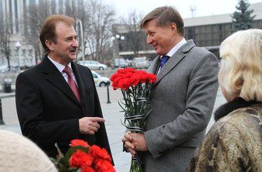 Александр Попов и Виктор Корж