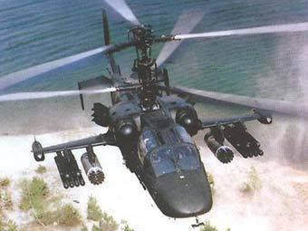 Вертолет Ка-52 (Аллигатор)