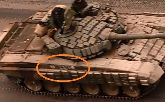 Российские танки в Украине, иллюстрация