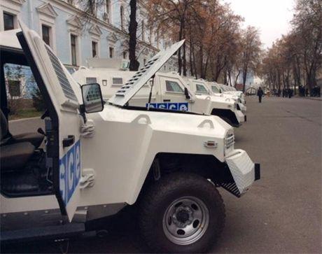 Бронеавтомобили для ОБСЕ