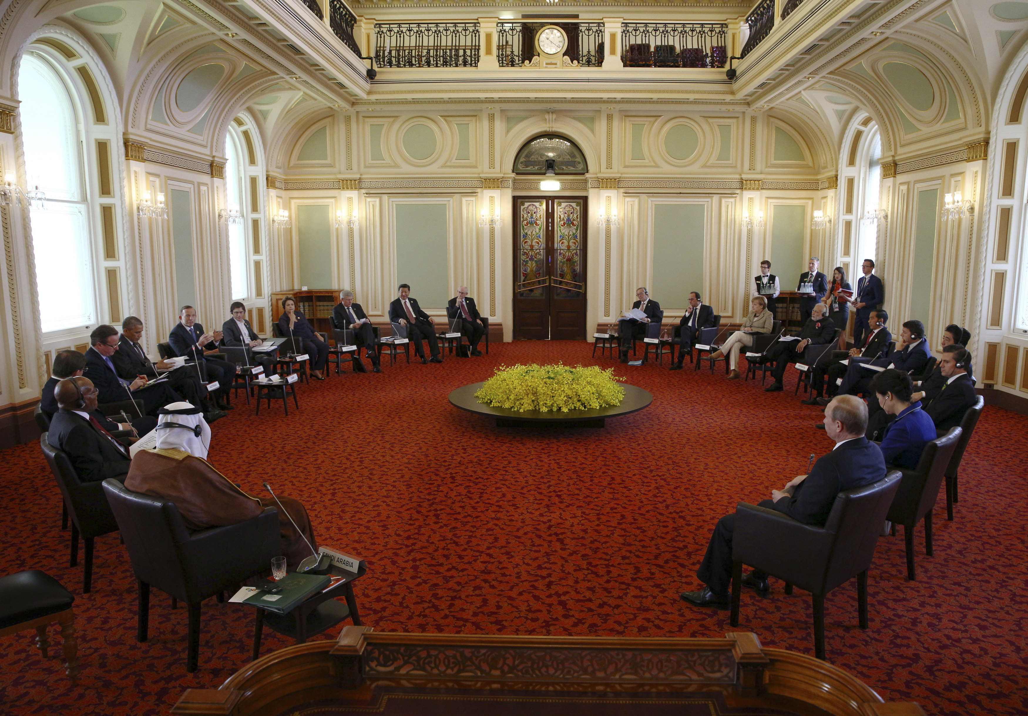 Саммит G20 в Брисбене
