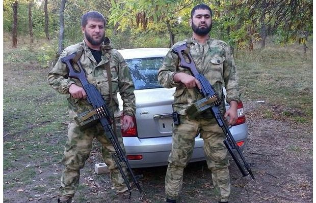 Чеченские боевики на Донбассе, иллюстрация