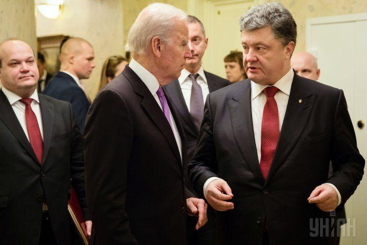 Встреча Порошенко и Байдена
