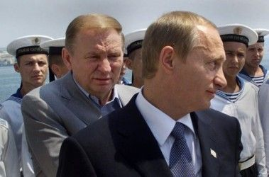 Леонид Кучма и Владимир Путин