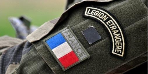 Нашивка бойца Французского легиона