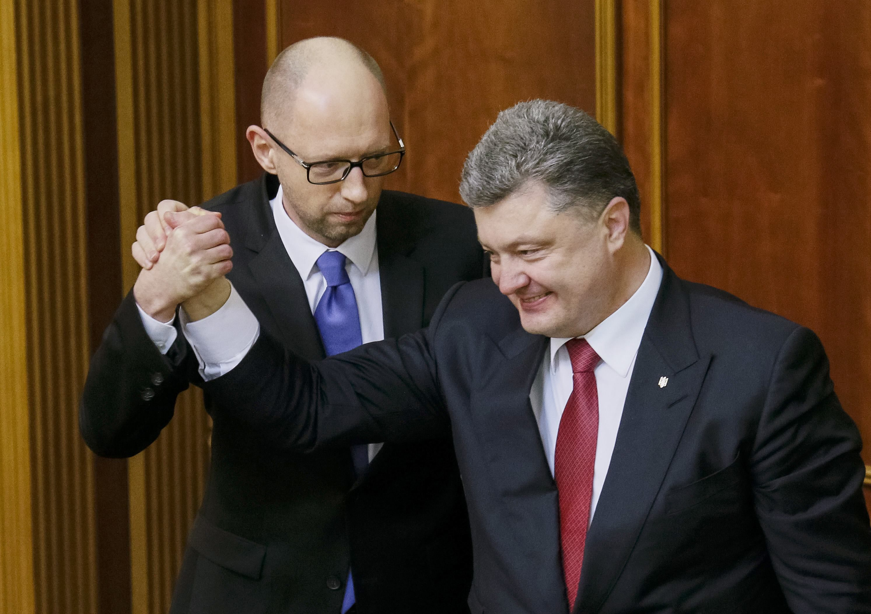Яценюк и Порошенко должны взять на вооружение исторический опыт заключения международных союзов