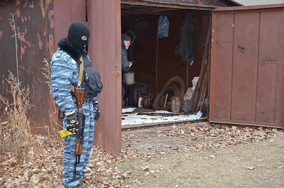 На Луганщине обнаружен тайник банды