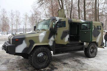 Новый броневик КOZAK.