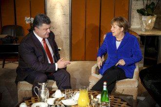 Порошенко договорился о встрече с Меркель