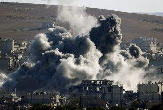 Столкновения в Сирии