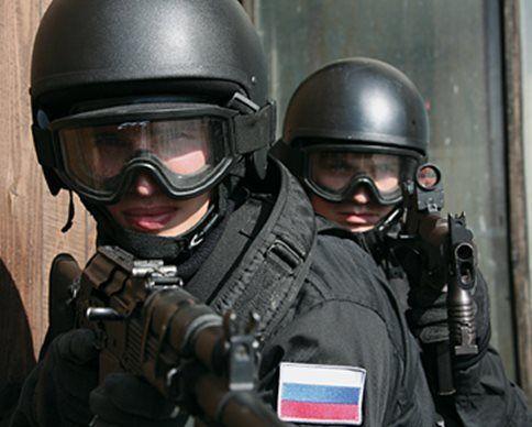 Спецназ ФСБ, иллюстрация
