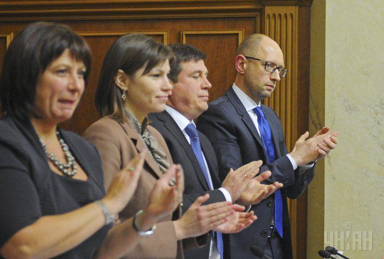 Члены Кабмина в парламенте, иллюстрация