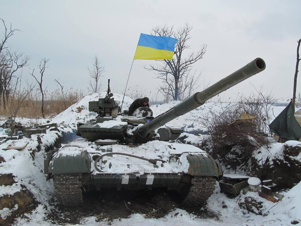 Украинские силовики сражаются с регулярными частями российской армии