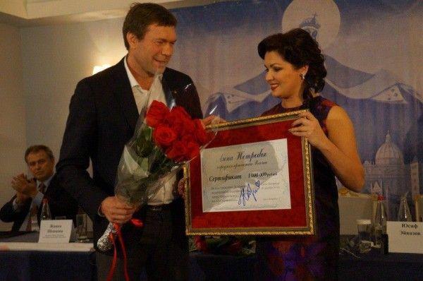 Олег Царев и Анна Нетребко