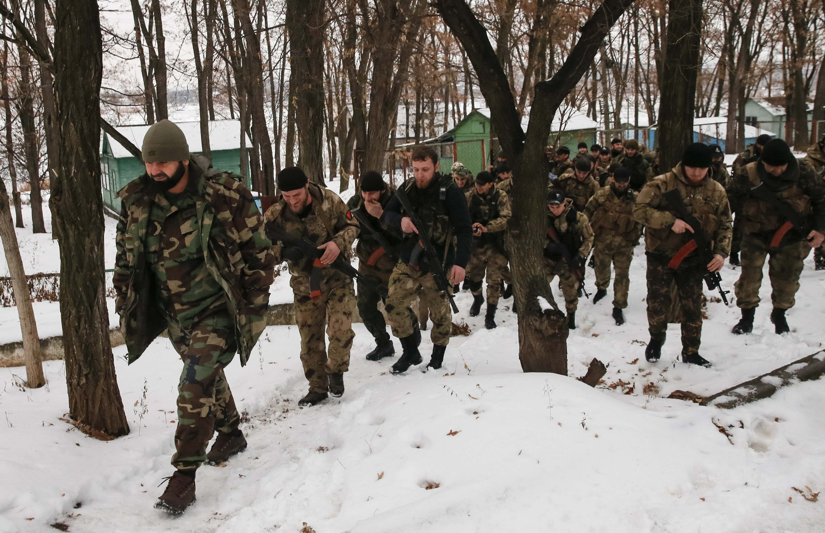 Кадыровские наемники