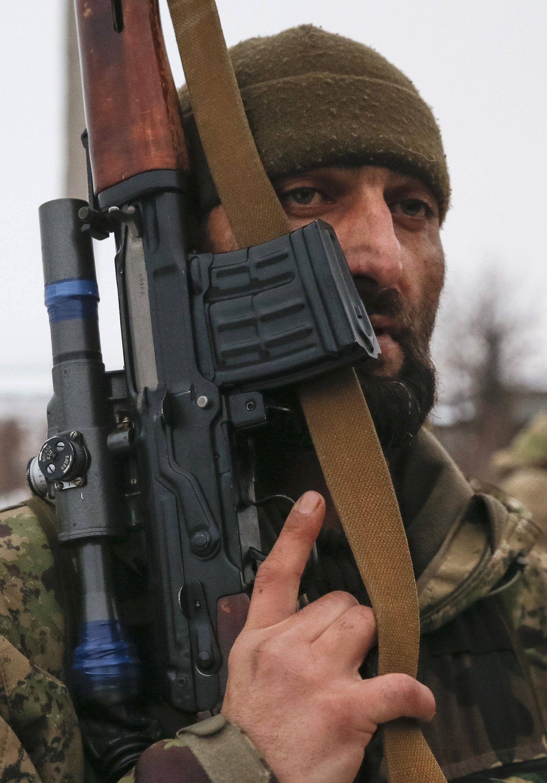 Боевики на Донбассе, иллюсрация