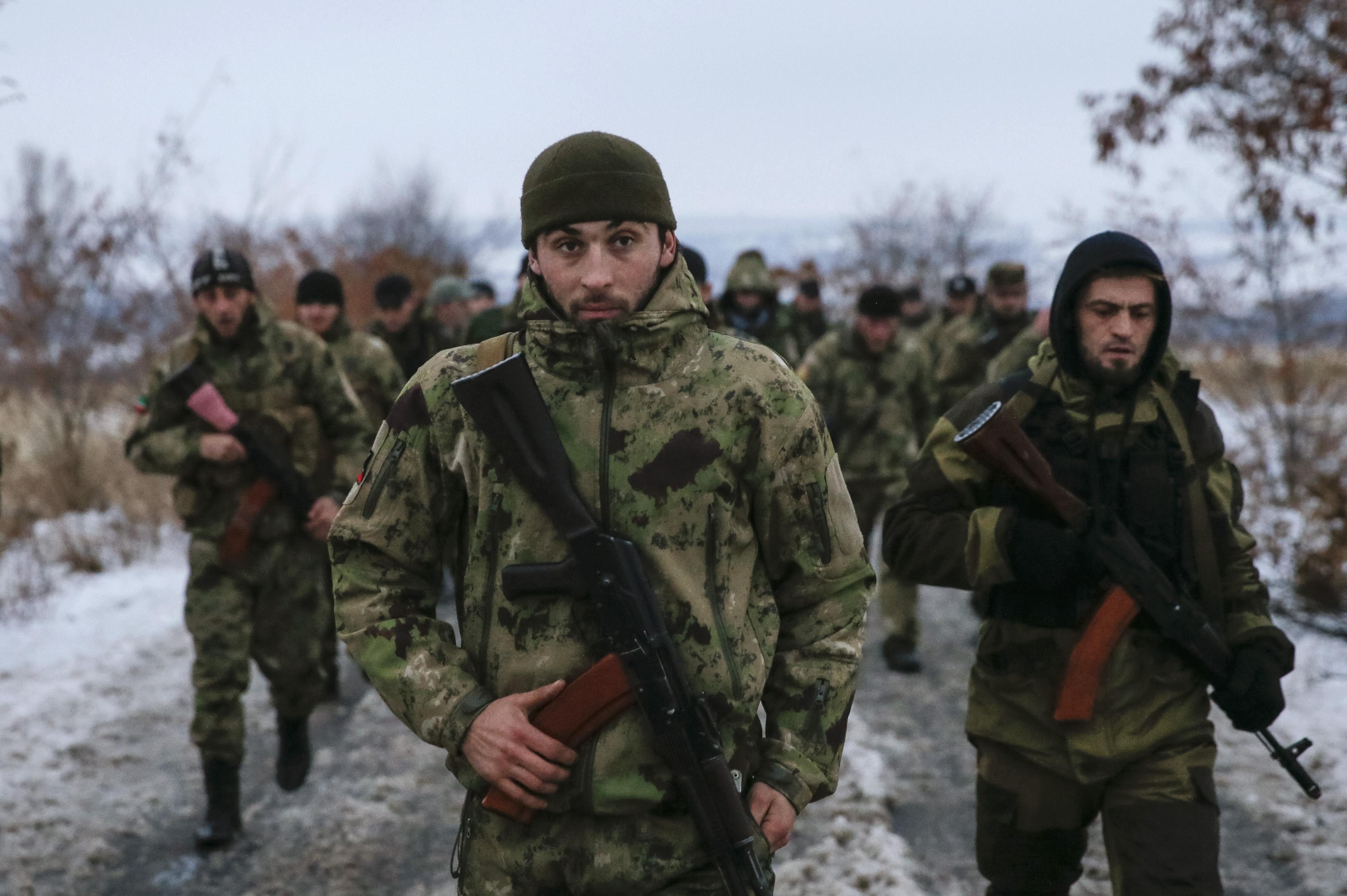 Кавказские наемники на Донбассе