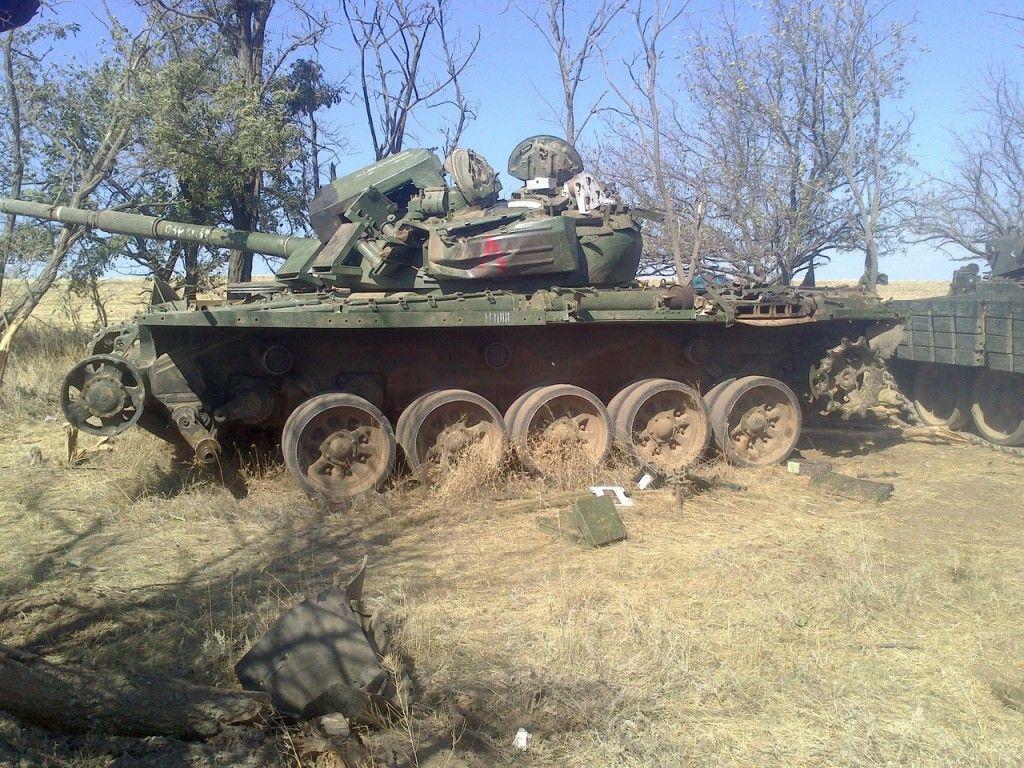 Танк 74-й бригады, иллюстрация