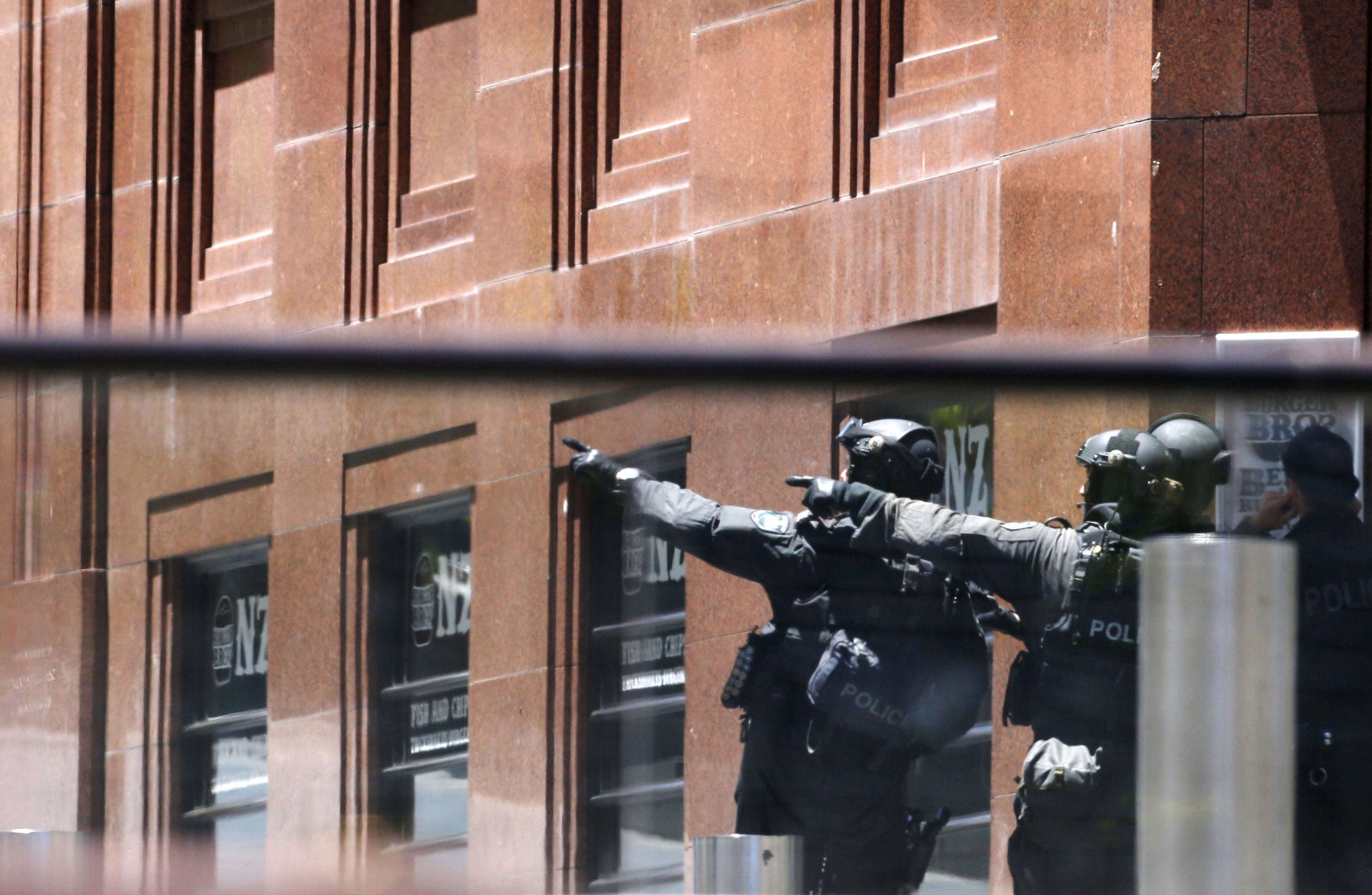 Полицейский в Сиднее
