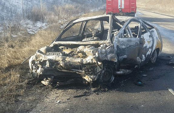В ДТП двух легковуше погибли семь человек