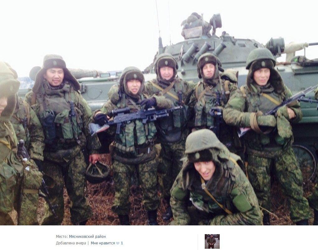В Иловайск прибыли буряты, иллюстрация.