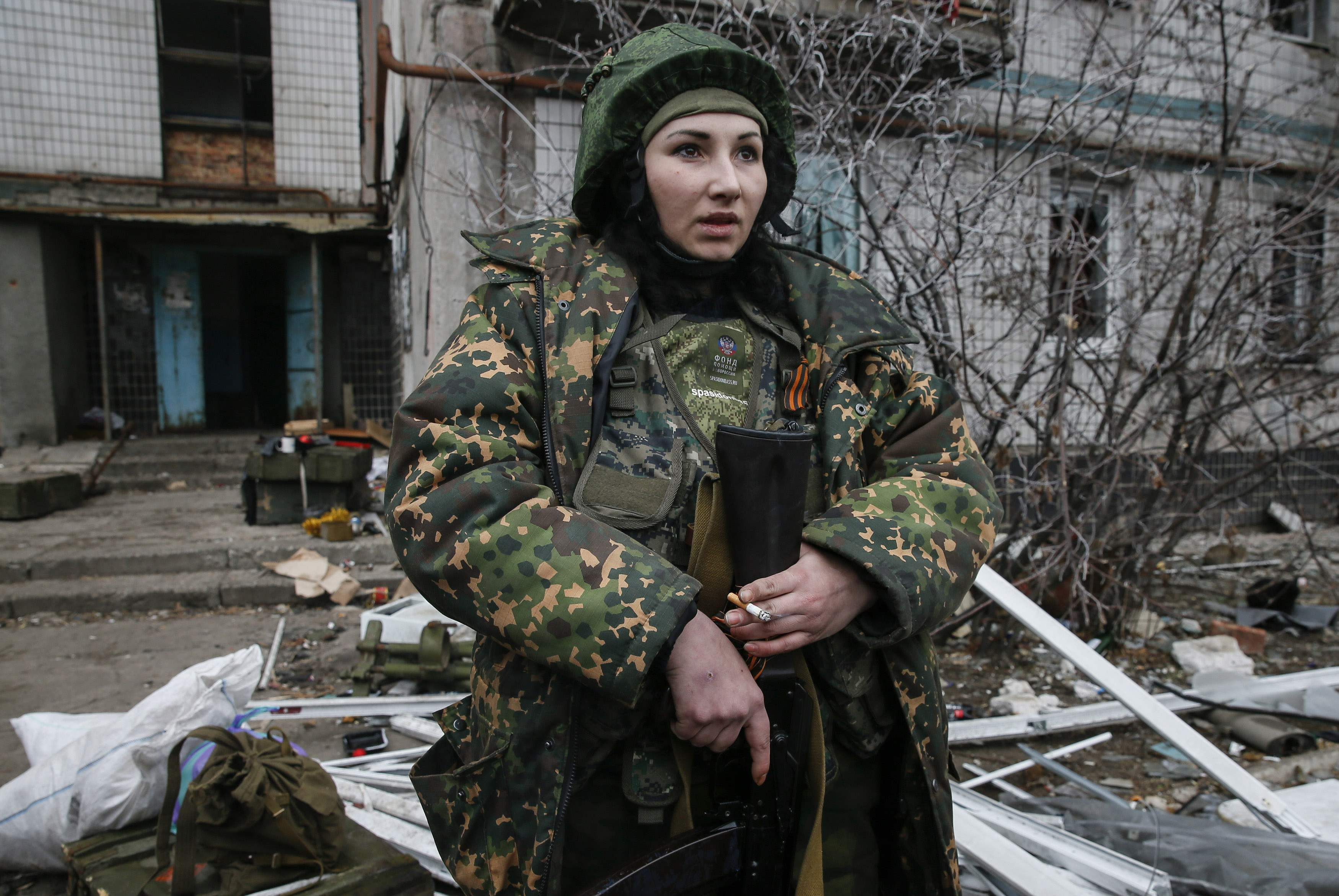Женщина-боевик
