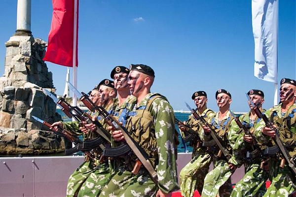 Мерпехи 810-й бригады в Севастополе