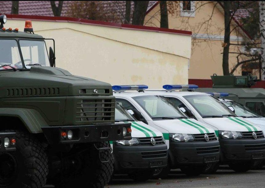 Пограничники получили 35 бронированных внедорожников