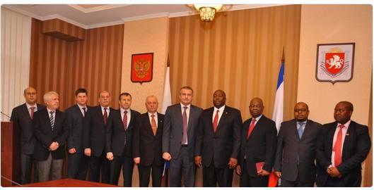 Встреча делегации Зимбабве в Крыму